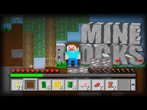 MINECRAFT 2D VERSION!   Mine Blocks