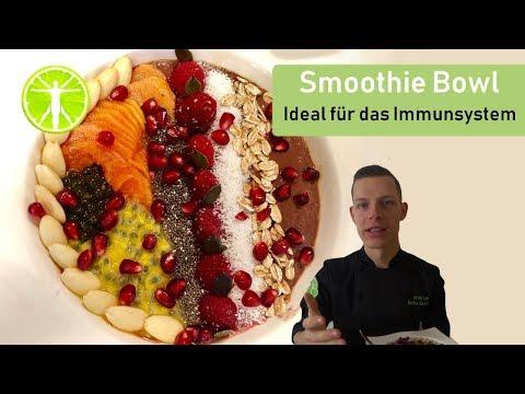Acai Smoothie Bowl - Immunsystem stärken! Gesundes Frühstück | Abnehmen | Ernährung | Gesundheit