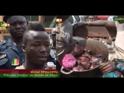 JT RTG DU 07 01 2014. Un présumé vendeur de viande de chien arrêté à Conakry, en Guinee