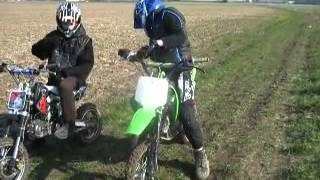 dirt bike 140 et dirt bike 125 nos debut !