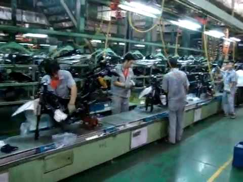 Loncin Motorcycle Factory China Youtube