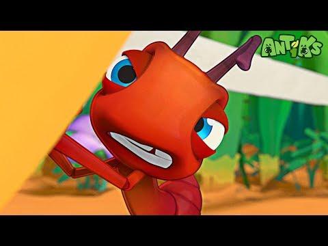 Oddbods Present: Antiks | Heavy Meal | Funny Cartoons For Kids