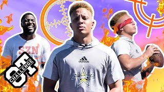 Spencer Rattler Hits BLINDFOLDED Trick Shots In The Overtime Challenge! Calls Out Bunchie Young 👀