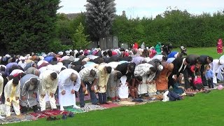 Eid prayer and Celebration in Oxford, 1437/2016