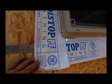 How to Install Windows With Flange – New Building and Construction