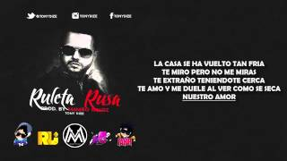 Ruleta Rusa - Tony Dize (Video Lyrics) ►NEW ® REGGAETON ROMANTICO 2014