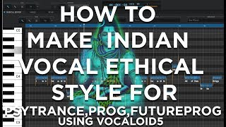 HOW TO MAKE🎤PSYTRANCE INDIAN VOCAL👀| WILSON NETTO