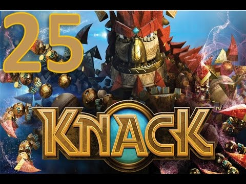 Knack – Part Twenty Five – Throw her in the lava pits!