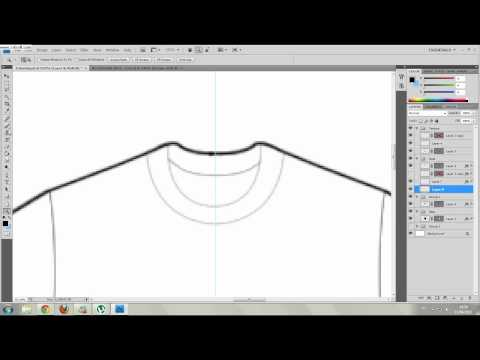 Criando Camisas pelo photoshop - Creating Shirts in photoshop