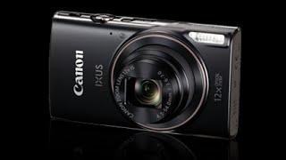 canon Ixus 285 complete settings