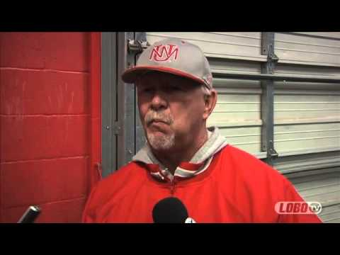 2013 Lobo Baseball | Coach Ray Birmingham: Post-NMSU Press Conference