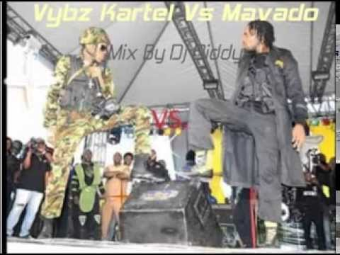 Vybz Kartel Vs Mavado Full War Mix By Dj Diddy