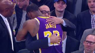 Los Angeles Lakers vs New York Knicks : March 17, 2019