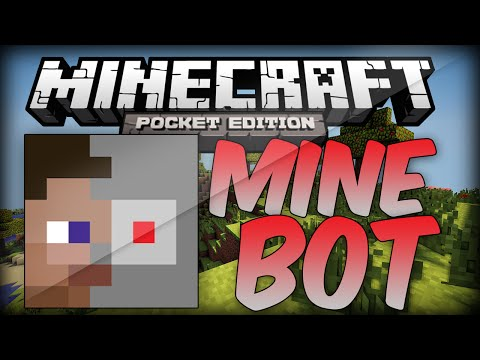 MineBot, Your Own Personal Robot – Minecraft PE
