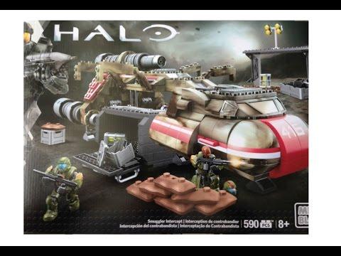 Halo Mega Bloks Brand new Smuggler Intercept!