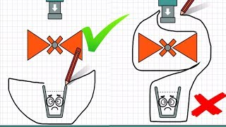 Happy Glass - Gameplay Walkthrough Part 10 Level 445 - 470 - DRAW A LINE TO FILL THE GLASS