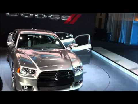 Open Road Acura on New York Auto Show 2011  2011 Dodge Charger Srt8   R T