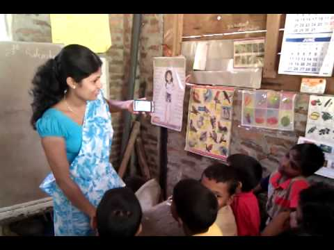 Smart Phones are Used For Education In Srilanka by Udubaddawa Nisala Nenasala