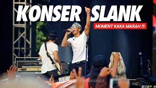 Detik detik KAKA SLANK melempar Tamborin ke arah penonton konser