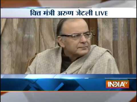 Live: Arun Jaitley addressing PC on GST bill