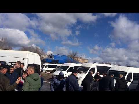 Пробег-протест закрытия маршруток Волгограда