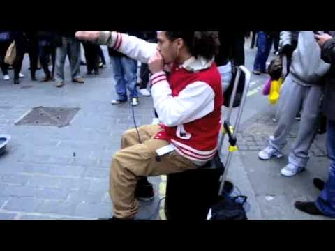 Beatbox R-TIZT at Covent Garden