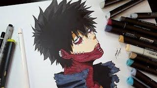 Drawing Dabi From Boku No Hero Academia
