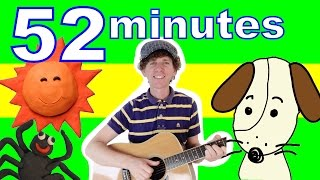 BINGO Song and More | 52 Minutes Super Kids Songs Collection with Matt