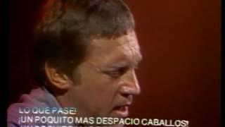 Высоцкий  Съемка Мексиканского телевидения 1977 г