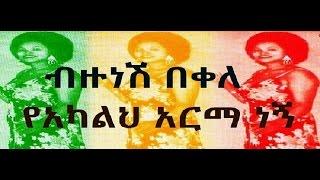Bizunesh Bekele -  Yeakalih Arma Negne የአካልህ አርማ ነኝ (Amharic)