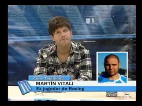 Martn Vitali en Racing Para Todos (13/05/13)
