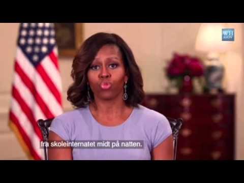 Her er Michelle Obamas fordømmelse av kidnappingene i Nigeria