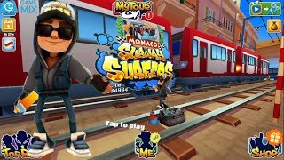 IGameMix/Subway Surfers MONACO FULLSCREEN 2018*Jake Dark Outfit & 1 Save Me*Gameplay For Kid #3