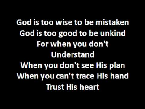 Trust His Heart.wmv