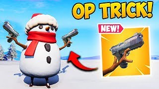 INSANE SNOWMAN PLAYS! - Fortnite Funny Fails and WTF Moments! #449