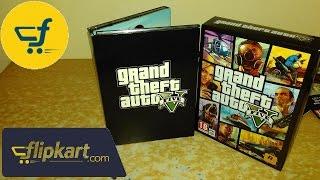 GTA V PC (7 DVDs) Unboxing from flipkart India