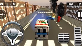 Ambulance Rescue Driving Simulator 2018 | Car Games For Kids | Android Gameplay HD