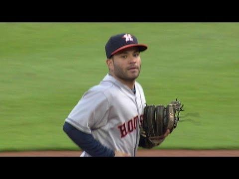 HOU@DET: Altuve robs Cabrera of hit on hard grounder