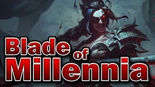 The Blade of Millennia (Kayn & Rhaast Lore)