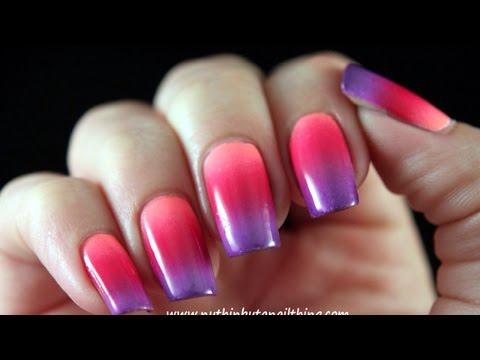 Como hacer bonitos diseños de uñas con degradado - Hazlo tu Mismo Belleza - Guidecentral