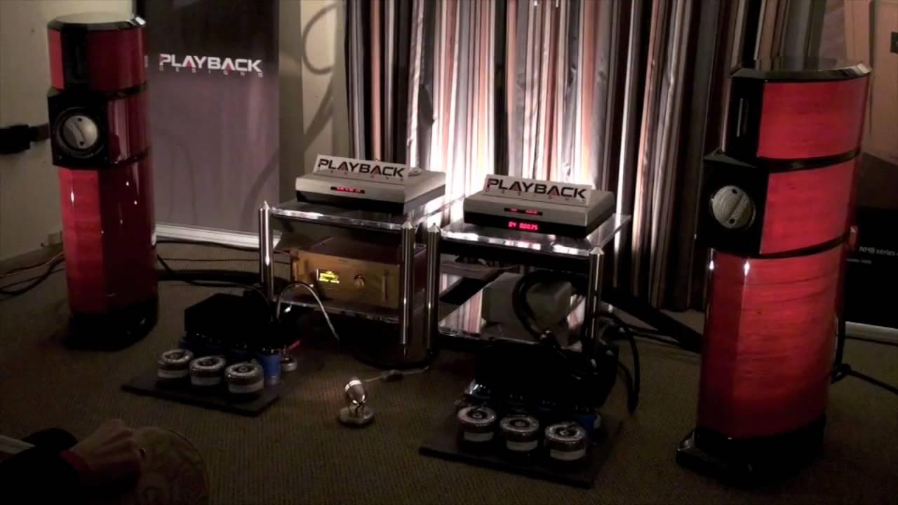 AudiogoN @ CES 2009: Evolution Acoustics + darTZeel amplifiers ... Audiogon
