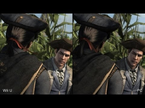 Assassin's Creed 3: Wii U vs. PC Comparison Video