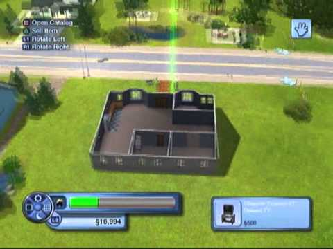 how to make a basement in sims 3 ps3
