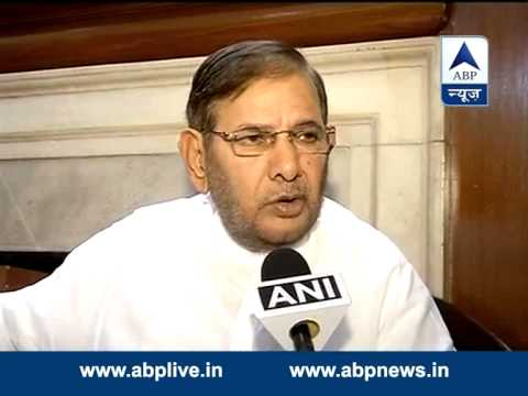 Such behaviour with north-eastern students is condemnable: Sharad Yadav