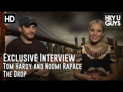 Tom Hardy and Noomi Rapace Interview - The Drop