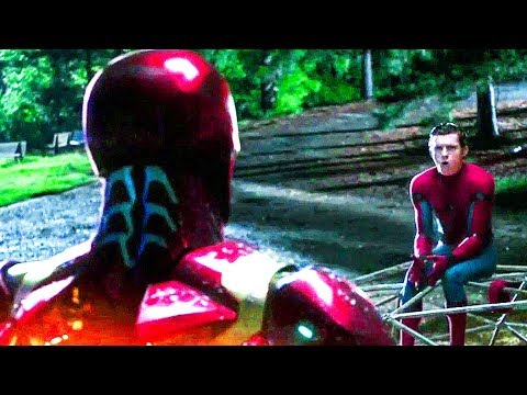 Spider man Homecoming Iron Man & Spiderman Trailer (2017) Tom Holland Superhero Movie HD