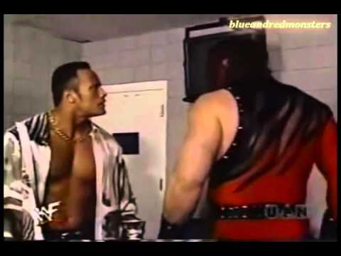 Kane and The Rock Backstage Fight thumbnail