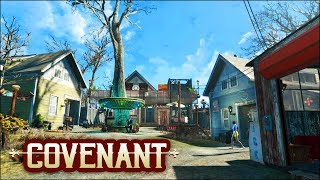 Pristine Covenant Build 🏘️ Fallout 4 No Mods Shop Class