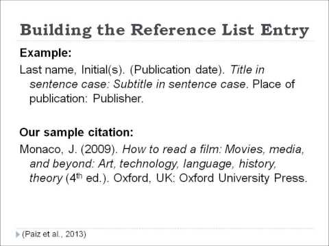 Apa movie titles in text