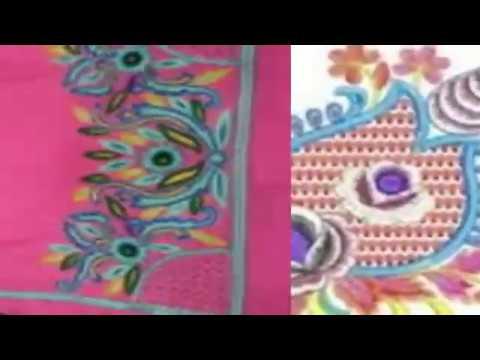 Latest punjabi suit embroidery designs